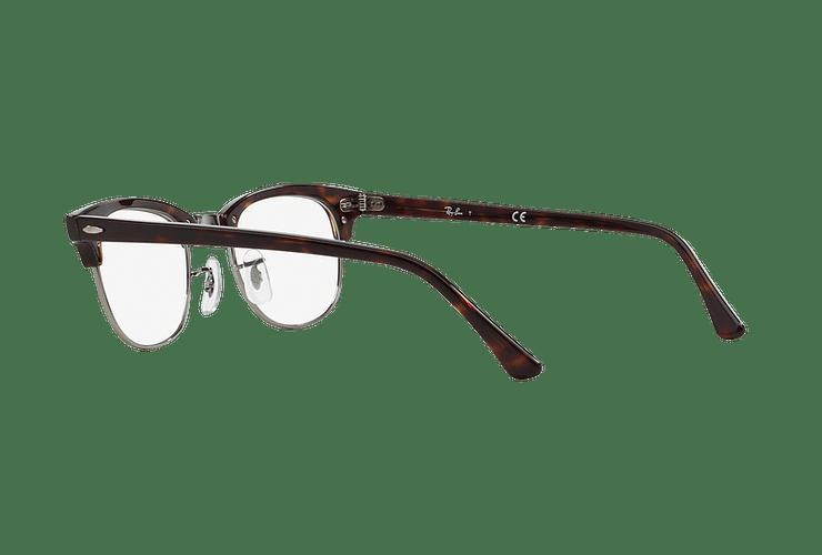 Armazón óptico Ray Ban Clubmaster RX5154 Dark Havana cod. RX5154 2012 49 - Image 4
