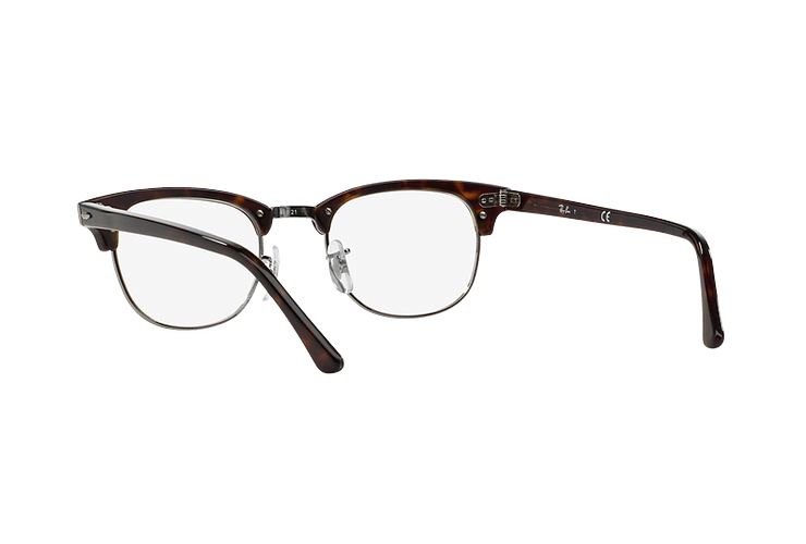 Armazón óptico Ray Ban Clubmaster Dark Havana cod. RX5154 2012 51 - Image 5