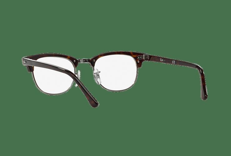 Armazón óptico Ray-Ban Clubmaster RX5154 Dark Havana cod. RX5154 2012 51 - Image 5