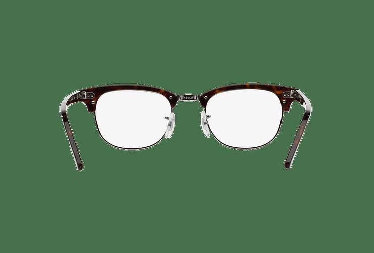 Armazón óptico Ray Ban Clubmaster RX5154 Dark Havana cod. RX5154 2012 51 - Image 6