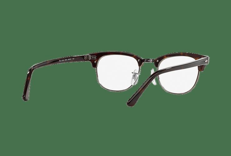 Armazón óptico Ray Ban Clubmaster RX5154 Dark Havana cod. RX5154 2012 49 - Image 7
