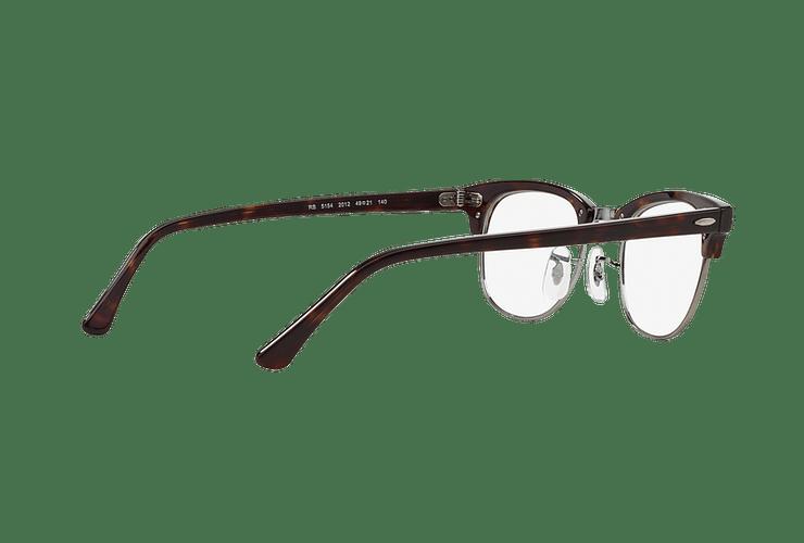 Armazón óptico Ray Ban Clubmaster RX5154 Dark Havana cod. RX5154 2012 51 - Image 8