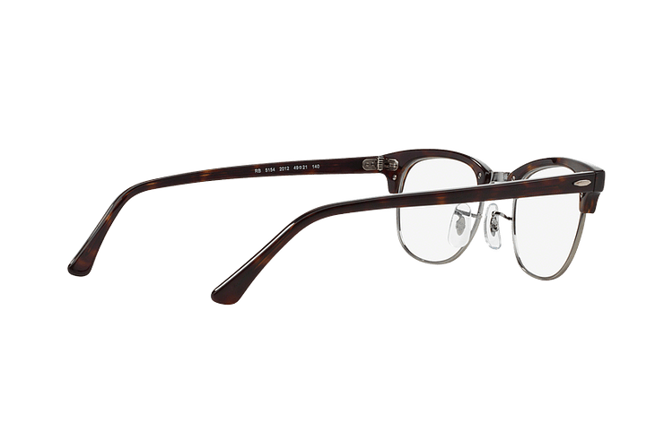 Armazón óptico Ray-Ban Clubmaster RX5154 Dark Havana cod. RX5154 2012 51 - Image 8
