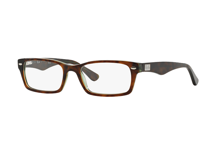 Armazón óptico Ray Ban Rectangular RX5206 Havana cod. RX5206 2445 54 - Image 1