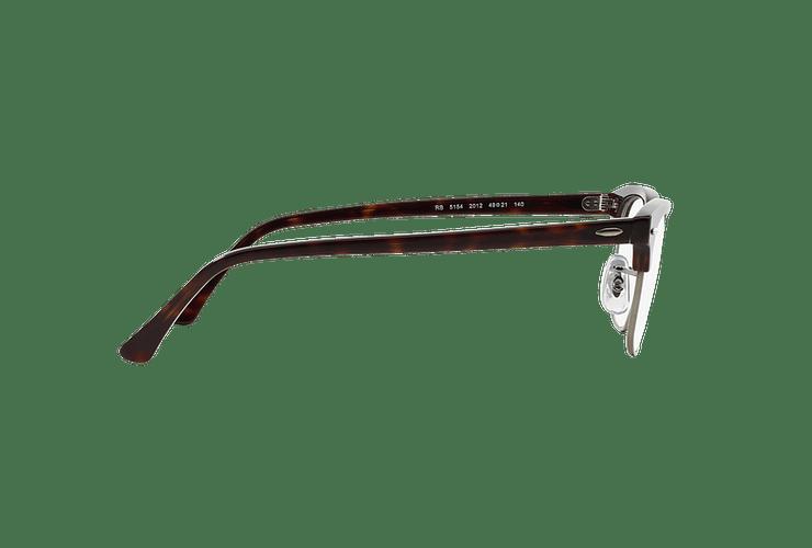 Armazón óptico Ray-Ban Clubmaster RX5154 Dark Havana cod. RX5154 2012 51 - Image 9