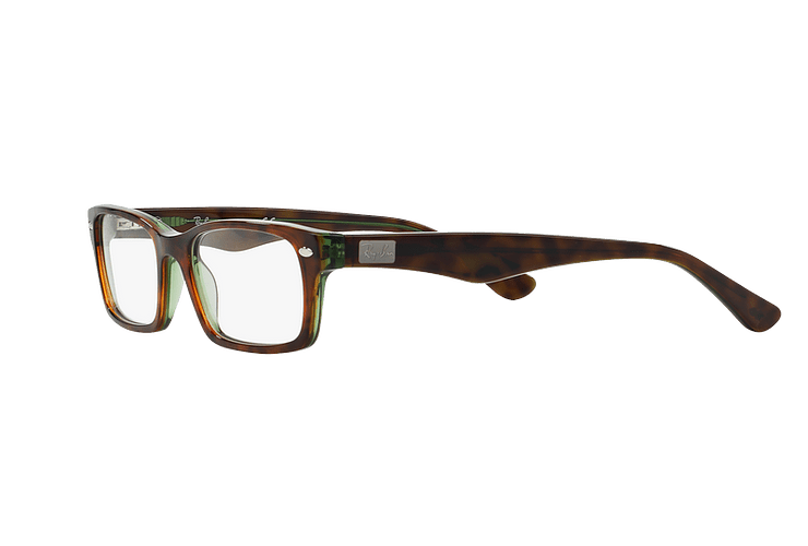 Armazón óptico Ray Ban Rectangular RX5206 Havana cod. RX5206 2445 54 - Image 2
