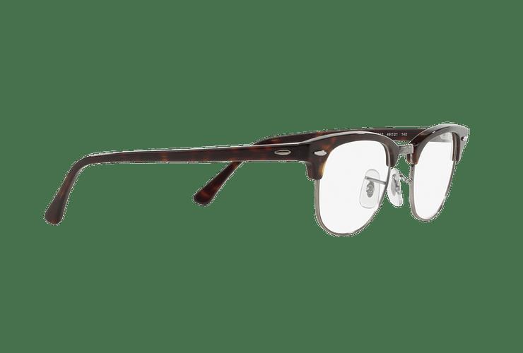 Armazón óptico Ray Ban Clubmaster RX5154 Dark Havana cod. RX5154 2012 49 - Image 10