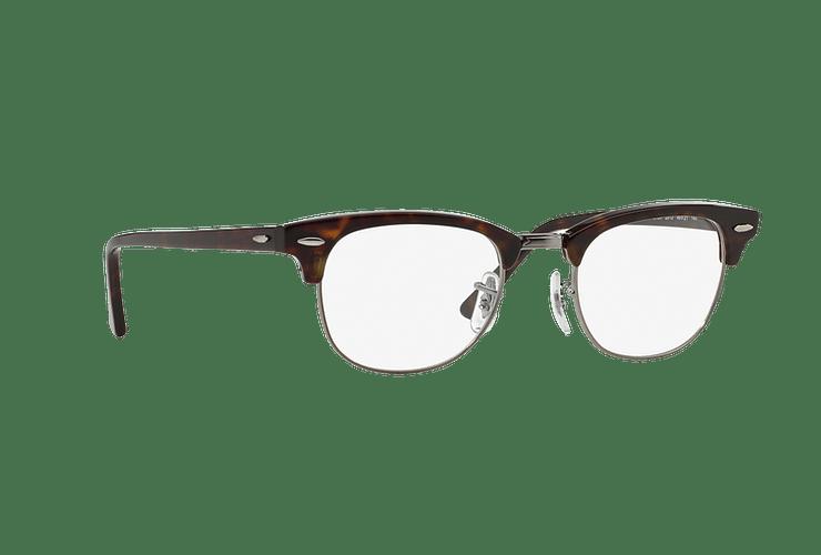 Armazón óptico Ray-Ban Clubmaster RX5154 Dark Havana cod. RX5154 2012 51 - Image 11