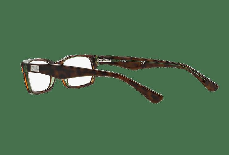 Armazón óptico Ray Ban Rectangular RX5206 Havana cod. RX5206 2445 54 - Image 4