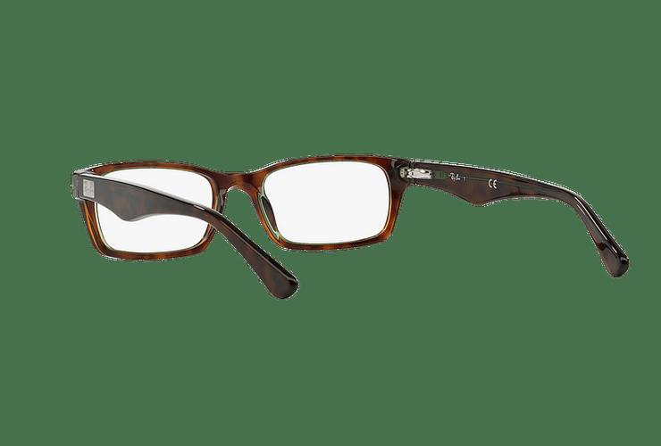 Armazón óptico Ray Ban Rectangular RX5206 Havana cod. RX5206 2445 54 - Image 5