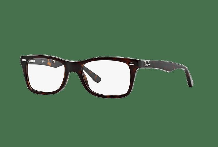 Armazón óptico Ray Ban RX5228 Dark Havana cod. RX5228 2012 55 - Image 1