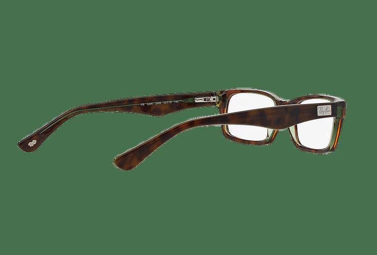 Armazón óptico Ray Ban Rectangular RX5206 Havana cod. RX5206 2445 54 - Image 8