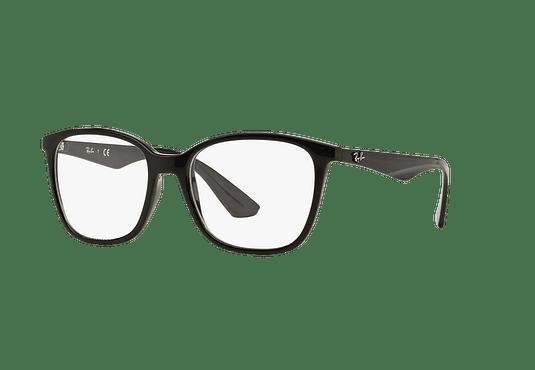 Armazón óptico Ray Ban RX7066 Shiny Black cod. RX7066 2000 54