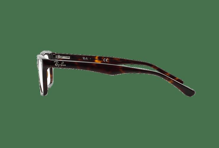 Armazón óptico Ray-Ban RX5228 Dark Havana cod. RX5228 2012 55 - Image 3