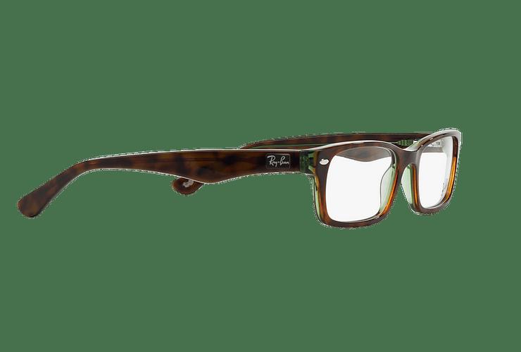 Armazón óptico Ray Ban Rectangular RX5206 Havana cod. RX5206 2445 54 - Image 10