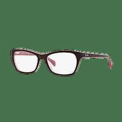 Armazón óptico Ray Ban Cat-eye RX5298 Matte Brown cod. RX5298 5386 53