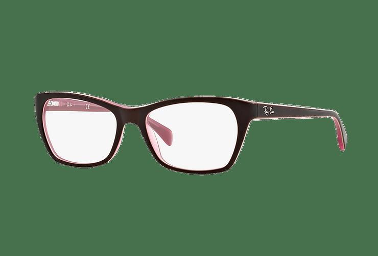 Armazón óptico Ray Ban Cat-eye RX5298 Matte Brown cod. RX5298 5386 53 - Image 1