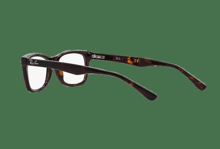 Armazón óptico Ray Ban RX5228 Dark Havana cod. RX5228 2012 55 - Image 4