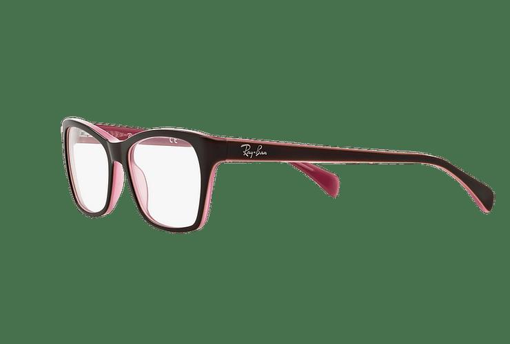 Armazón óptico Ray Ban Cat-eye RX5298 Matte Brown cod. RX5298 5386 53 - Image 2
