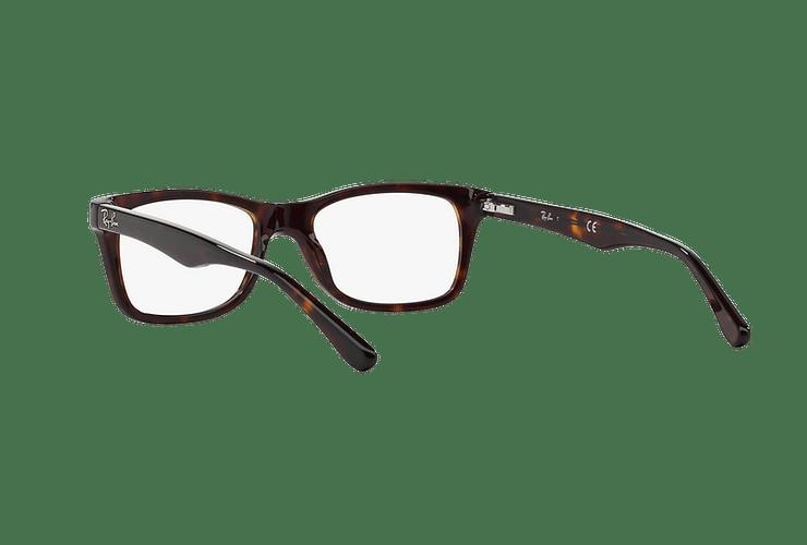Armazón óptico Ray-Ban RX5228 Dark Havana cod. RX5228 2012 55 - Image 5