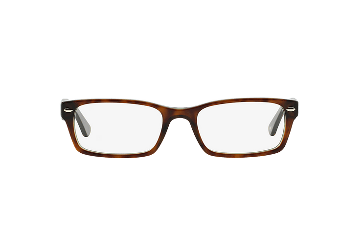 Armazón óptico Ray Ban Rectangular RX5206 Havana cod. RX5206 2445 54 - Image 12