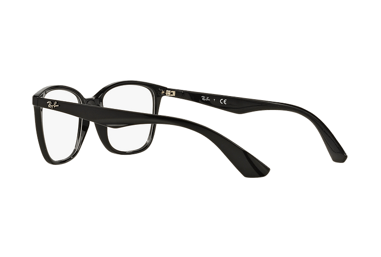 Armazón óptico Ray Ban RX7066 Shiny Black cod. RX7066 2000 54 - Image 4