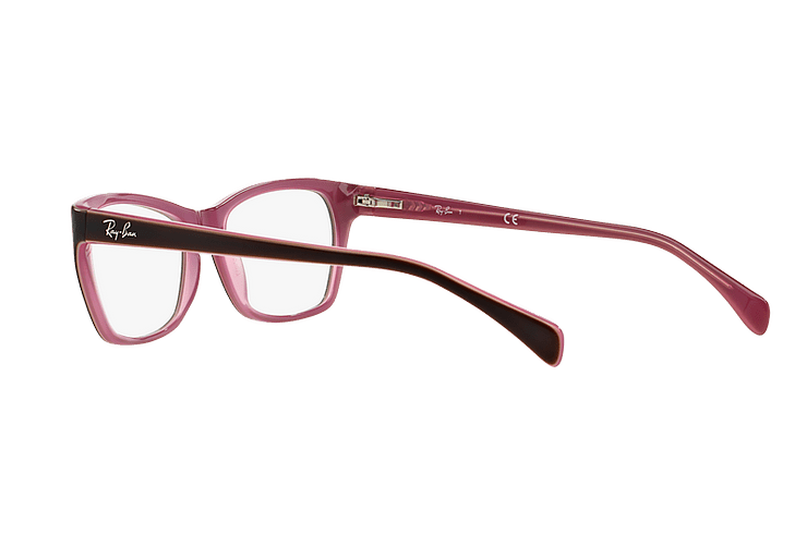 Armazón óptico Ray Ban Cat-eye RX5298 Matte Brown cod. RX5298 5386 53 - Image 4