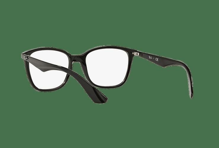 Armazón óptico Ray Ban RX7066 Shiny Black cod. RX7066 2000 54 - Image 5