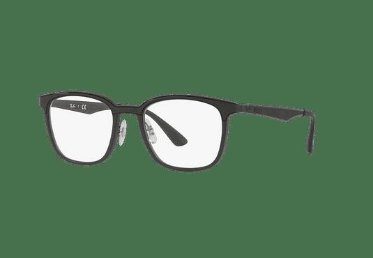 Armazón óptico Ray Ban RX7117 Matte Black cod. RX7117 5196 52