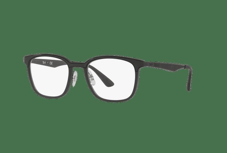 Armazón óptico Ray Ban RX7117 Matte Black cod. RX7117 5196 52 - Image 1