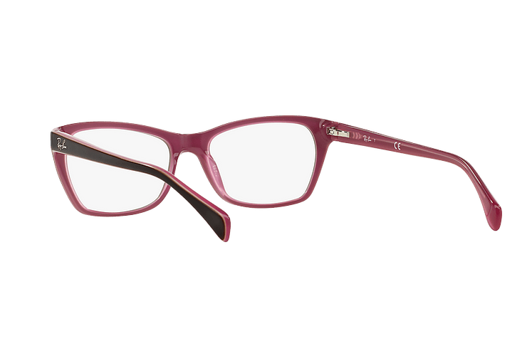 Armazón óptico Ray Ban Cat-eye RX5298 Matte Brown cod. RX5298 5386 53 - Image 5