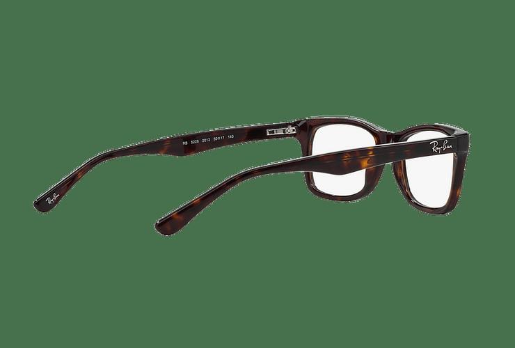 Armazón óptico Ray-Ban RX5228 Dark Havana cod. RX5228 2012 55 - Image 8