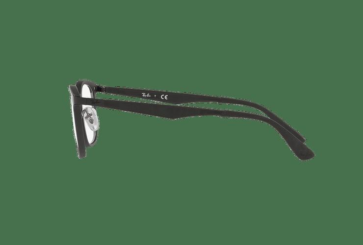Armazón óptico Ray Ban RX7117 Matte Black cod. RX7117 5196 52 - Image 3