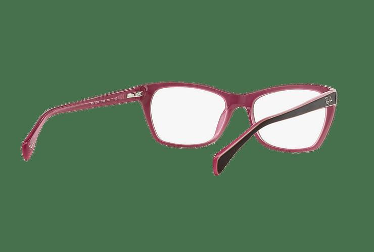 Armazón óptico Ray Ban Cat-eye RX5298 Matte Brown cod. RX5298 5386 53 - Image 7