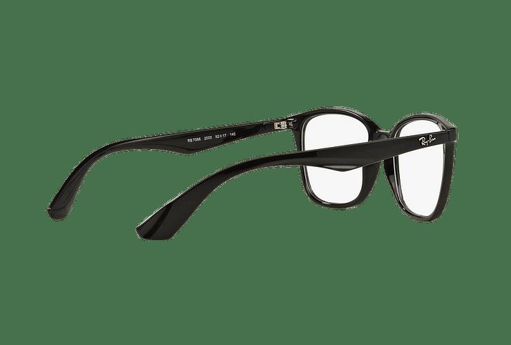 Armazón óptico Ray Ban RX7066 Shiny Black cod. RX7066 2000 54 - Image 8