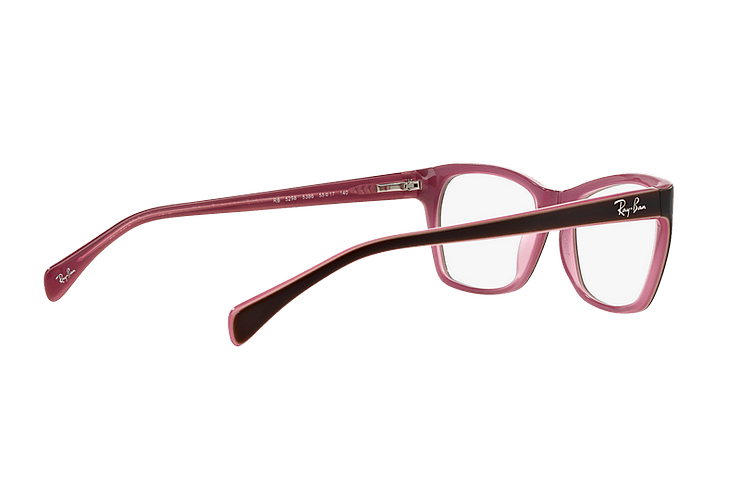 Armazón óptico Ray Ban Cat-eye RX5298 Matte Brown cod. RX5298 5386 53 - Image 8