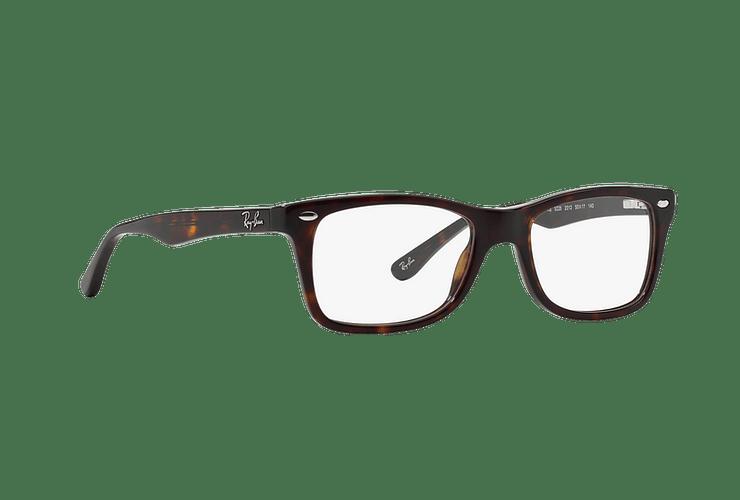 Armazón óptico Ray Ban RX5228 Dark Havana cod. RX5228 2012 55 - Image 11