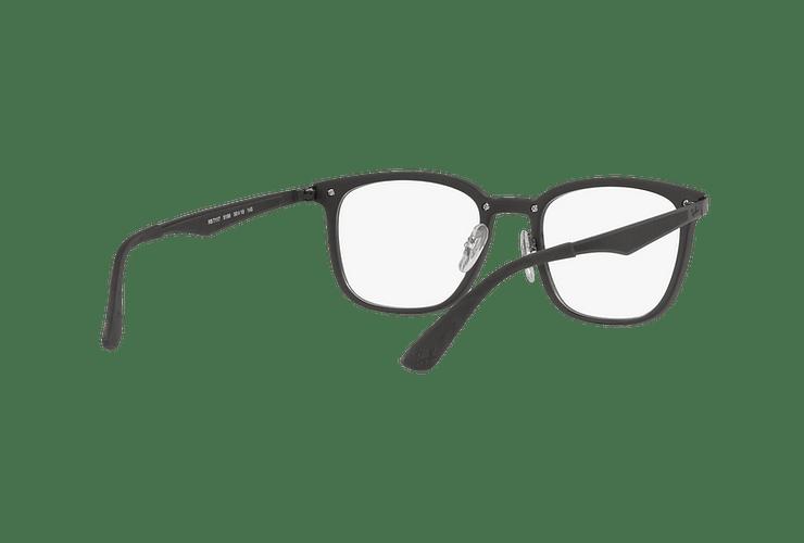 Armazón óptico Ray Ban RX7117 Matte Black cod. RX7117 5196 52 - Image 7