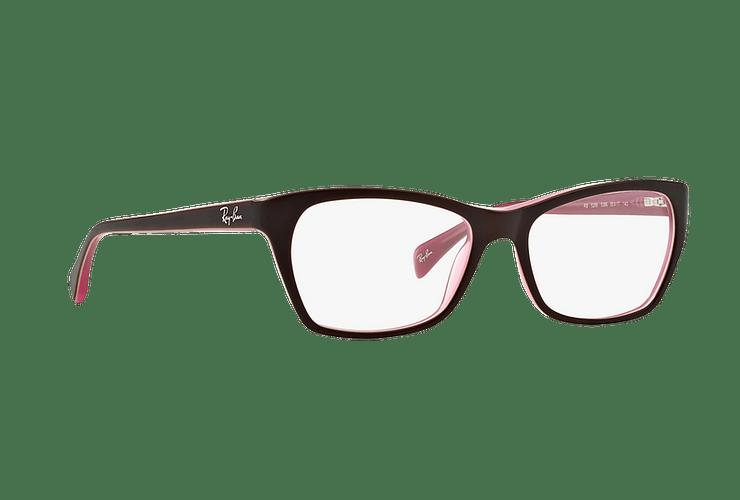 Armazón óptico Ray Ban Cat-eye RX5298 Matte Brown cod. RX5298 5386 53 - Image 11
