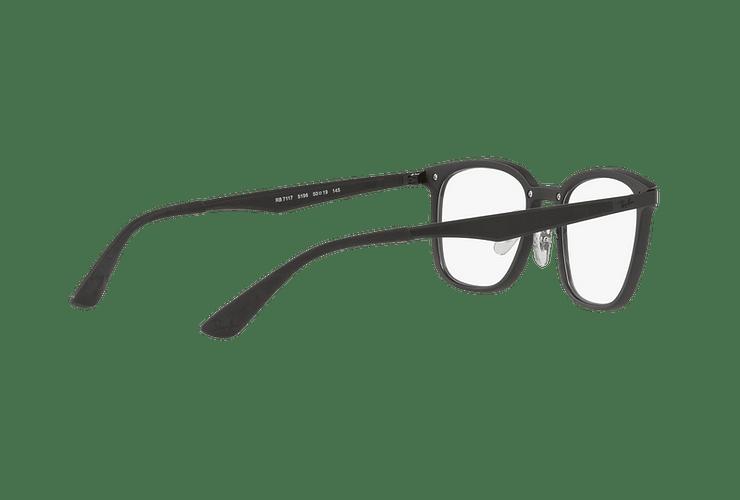 Armazón óptico Ray Ban RX7117 Matte Black cod. RX7117 5196 52 - Image 8