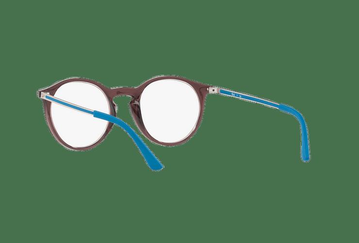 Armazón óptico Ray Ban Round RX7132 Opal Brown cod. RX7132 5720 48 - Image 5
