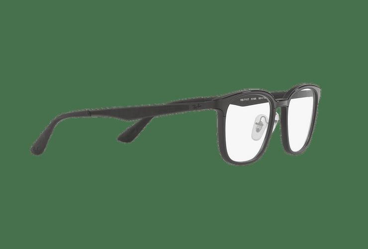 Armazón óptico Ray Ban RX7117 Matte Black cod. RX7117 5196 52 - Image 10