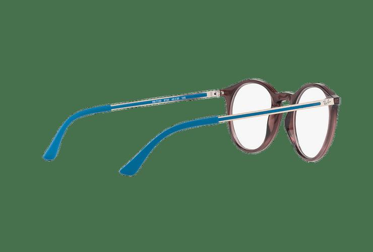 Armazón óptico Ray Ban Round RX7132 Opal Brown cod. RX7132 5720 48 - Image 8