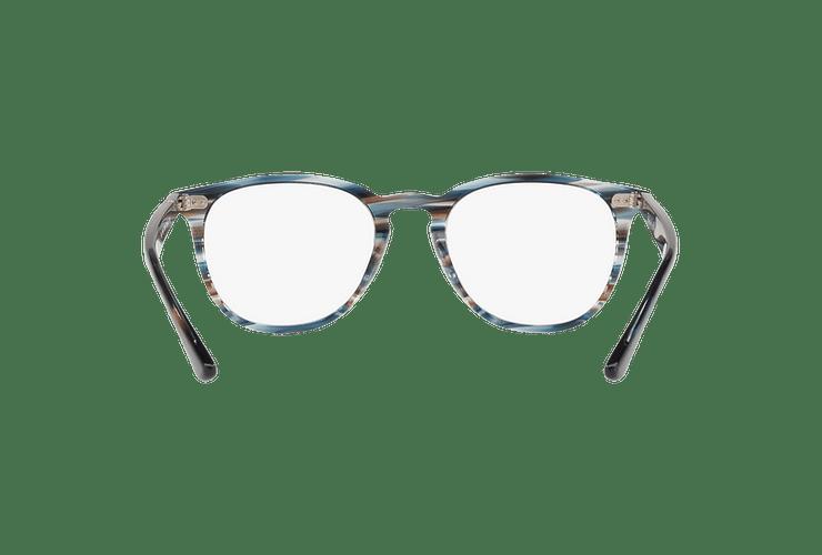 Armazón óptico Ray Ban Round RX7159 Blue Grey Stripped cod. RX7159 5750 52 - Image 6