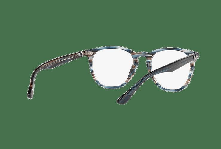 Armazón óptico Ray Ban Round RX7159 Blue Grey Stripped cod. RX7159 5750 52 - Image 7