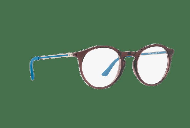 Armazón óptico Ray Ban Round RX7132 Opal Brown cod. RX7132 5720 48 - Image 11