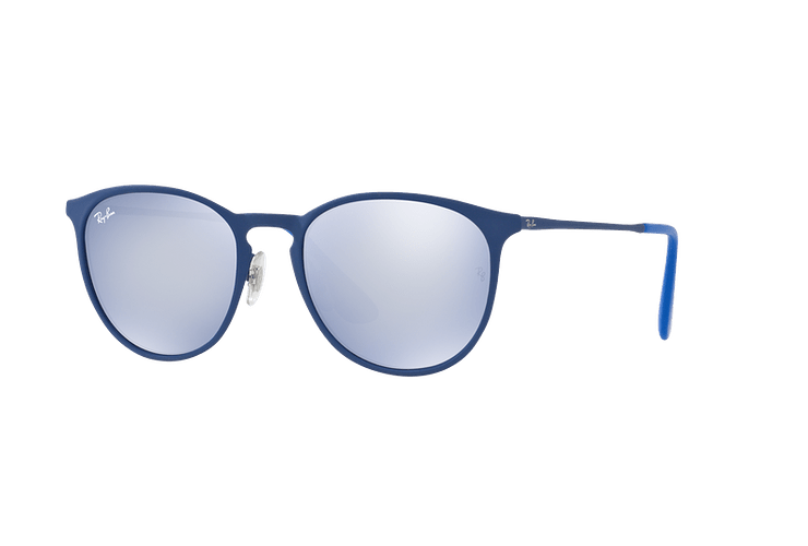 Ray Ban Erika Metal Rubber Electric Blue lente Blue Light Flash cod. RB3539 90221U 54 - Image 1