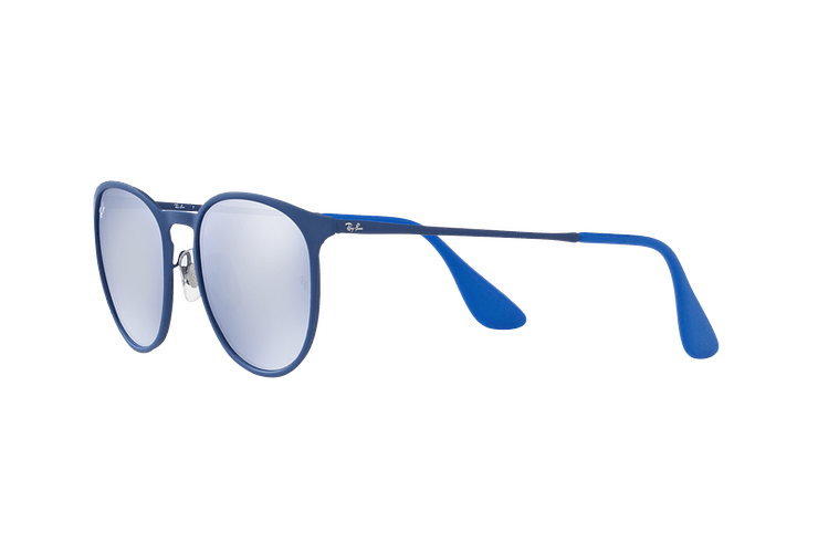 Ray Ban Erika Metal Rubber Electric Blue lente Blue Light Flash cod. RB3539 90221U 54 - Image 2