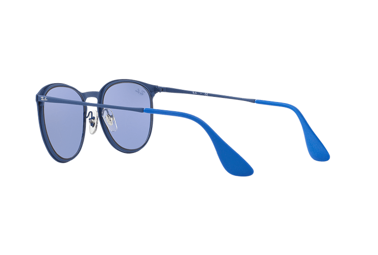 Ray Ban Erika Metal Rubber Electric Blue lente Blue Light Flash cod. RB3539 90221U 54 - Image 4