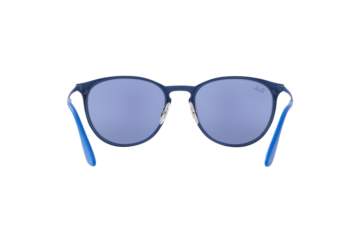 Ray Ban Erika Metal Rubber Electric Blue lente Blue Light Flash cod. RB3539 90221U 54 - Image 6